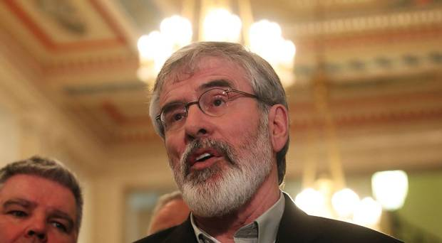 Gerry Adams has said called for another snap election if talks at Stor...