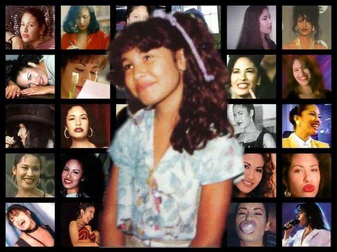 Happy Birthday to mi reina Selena Quintanilla Pérez. She would\ve been 46 today si no la hubieran matado. :(