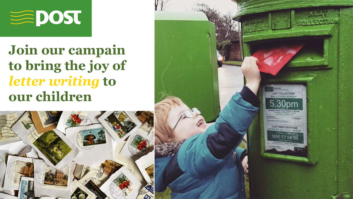 Send a drawing to your granny  #savetheletterwriting #anpost #herethereeverywhere https://t.co/yUwZm58zVS