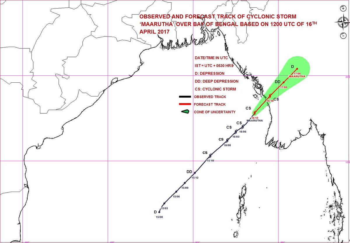 Dept On Twitter Based On 1500 Utc Observations Cs Maarutha To Cross Myanmar Coast Near Sandoway Thandwe During Next Three Hours