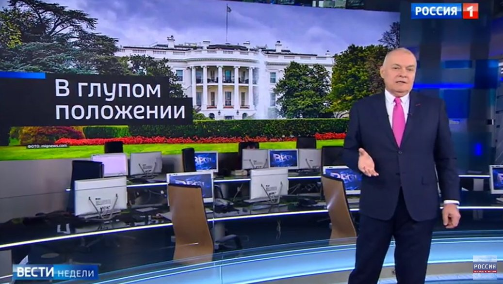 Image result for russia state tv trump