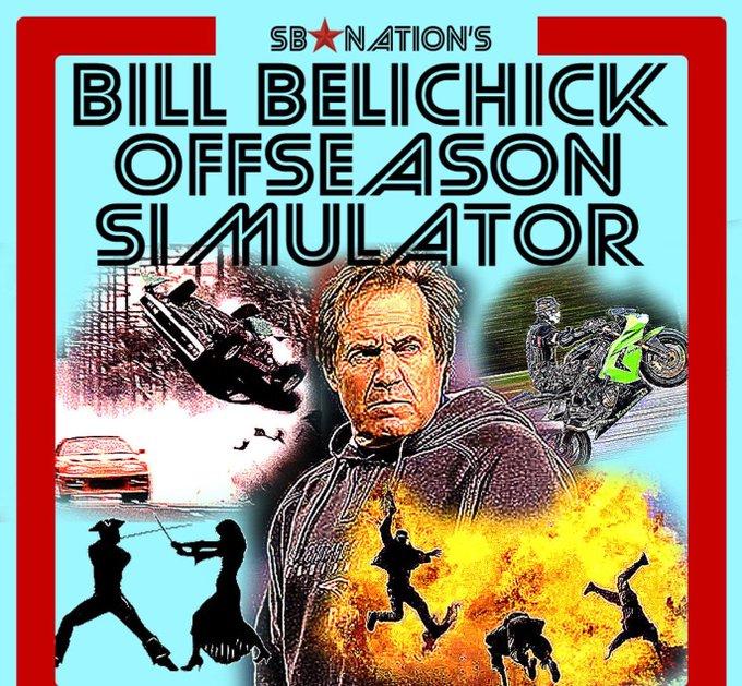 Happy 65th birthday, Bill Belichick. got you a present.