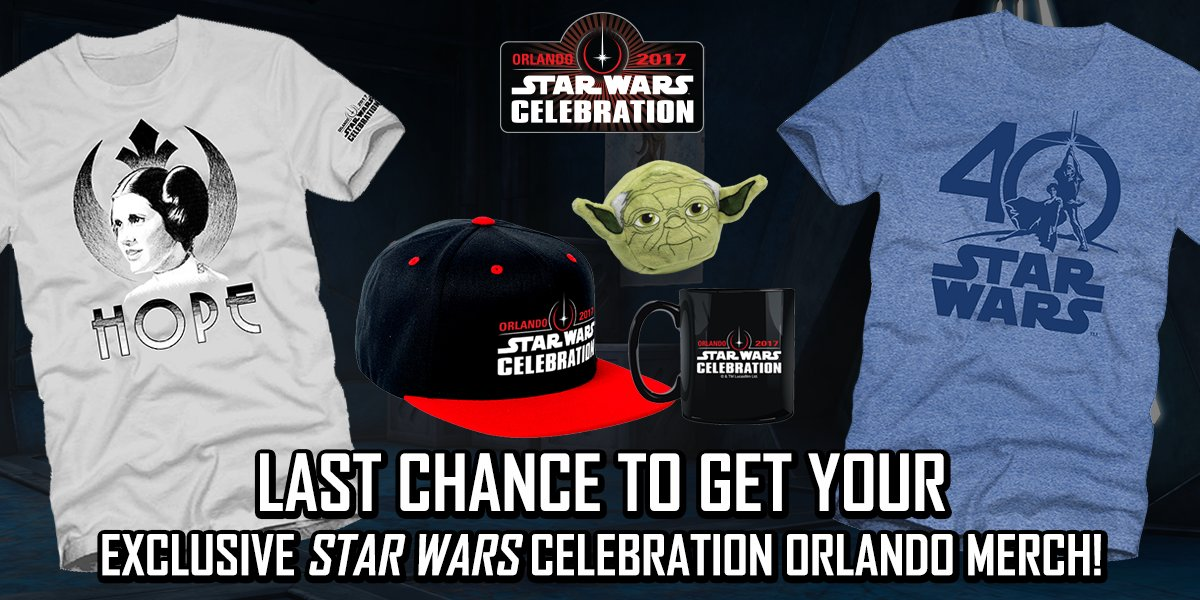 4ce31f9fa00 ... still hope - the Official Show Store will be open for another two  hours. Get there before the bay doors close for good!  SWCO…  https   t.co cnz7NlWHeW
