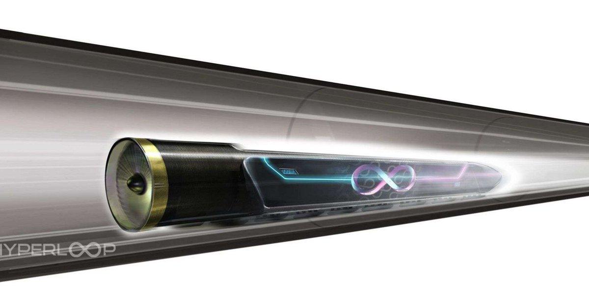 #Technologie : Hyperloop One : la piste d'essai du #train ultrarapide est prête 🚂 ➡️ https://t.co/vQBYOZfuXI