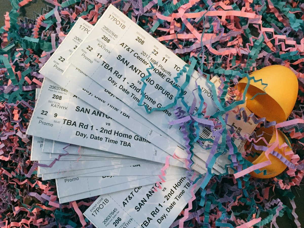 Looks like the Easter Bunny left some extra Game 2 tickets behind...   RETWEET TO WIN A PAIR!