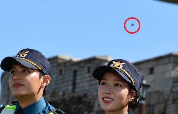 Fotografato UFO durante la crisi USA Nord Corea
