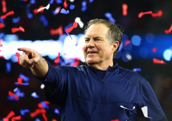 Happy 65th birthday to the 7-time Super-Bowl champion Bill Belichick ! Greatest coach in the history of the NFL.