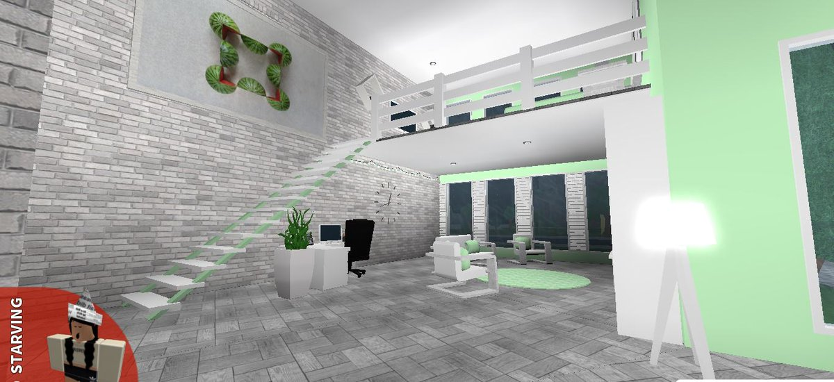Ayzria on twitter pastel apartment loft welcometobloxburg bloxburg rbx coeptus Apartments using pastel to create dreamy interiors