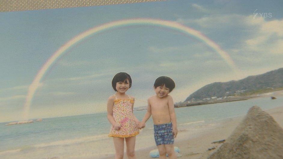 虹~~~おちび誠くんも首コテしてるw