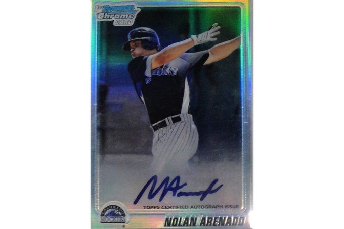 Happy birthday to Colorado third baseman Nolan