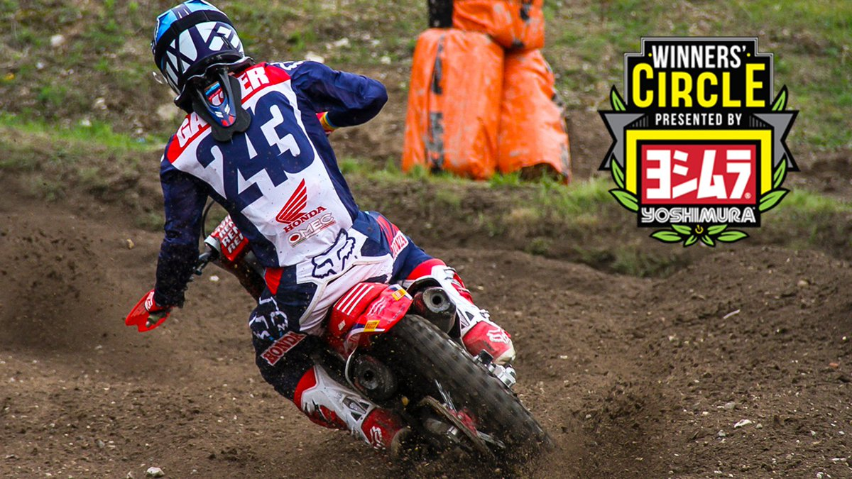 Winners' Circle: Tim Gajser 'The Goal now is to go to Monster Cup' vitalmx.com/photos/feature…