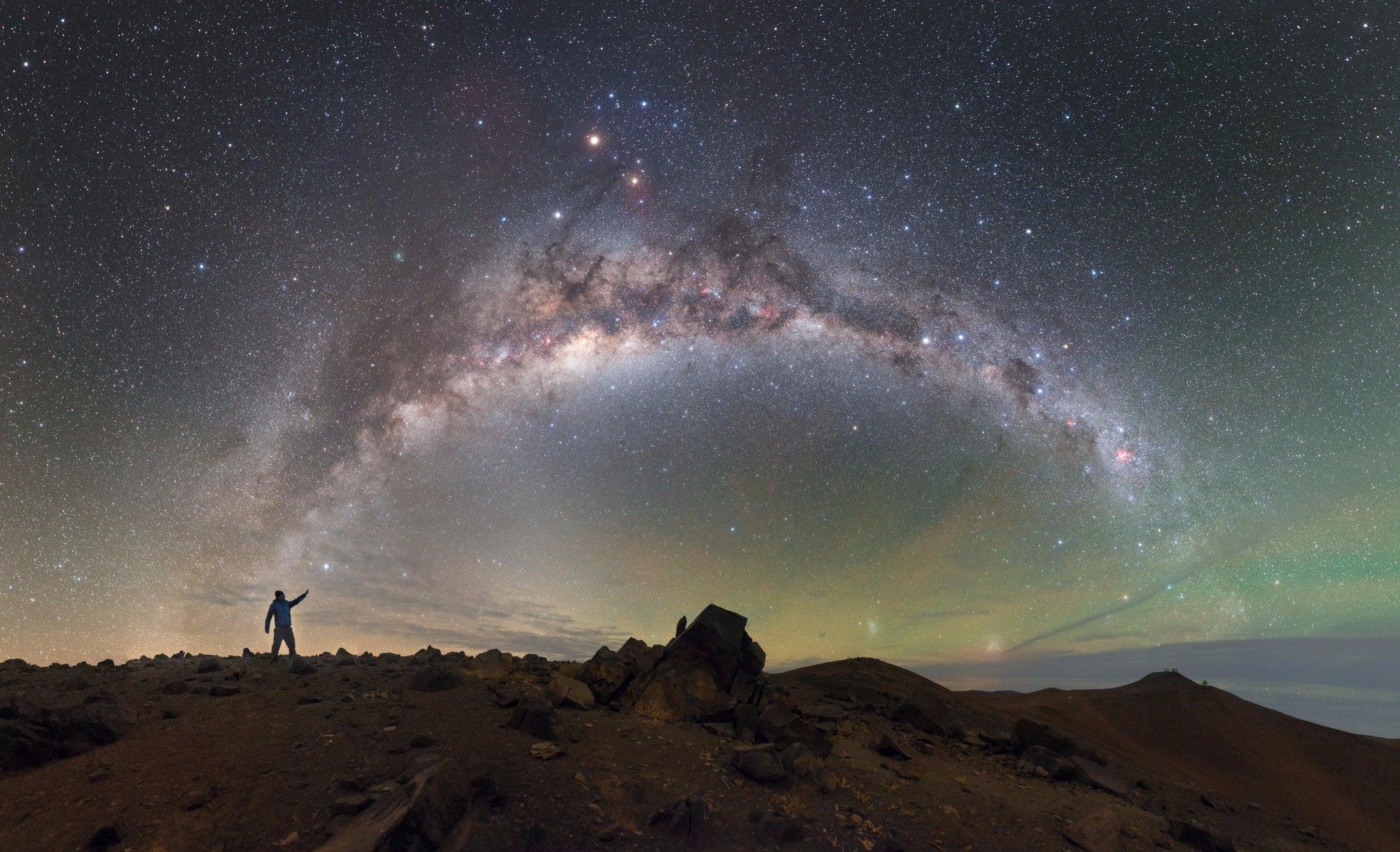 млечный путь фото с орбиты вам лучшие