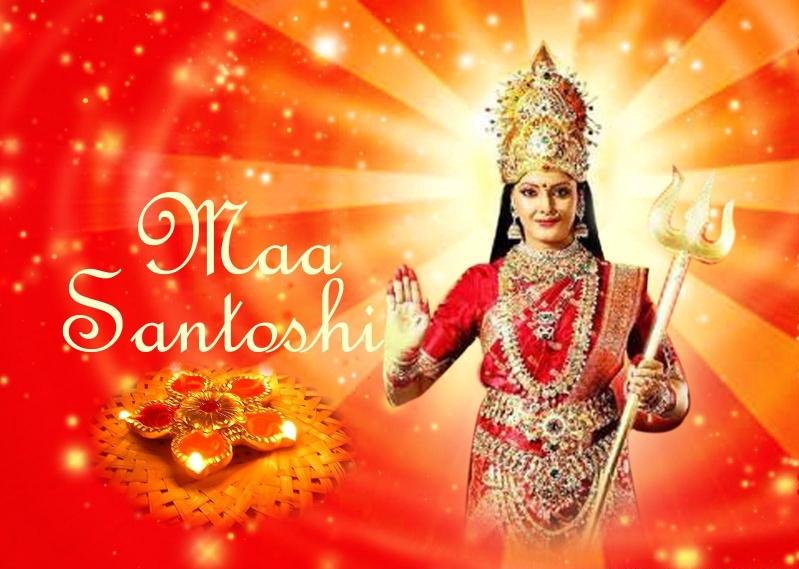 santoshi maa written update