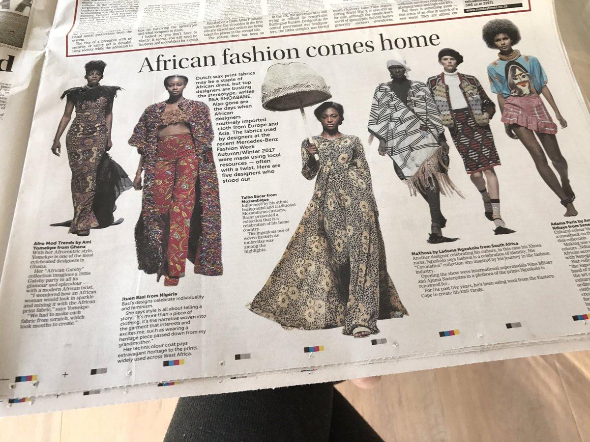 AfroModTrends AfroModTrends Twitter - How to make designer dress at home