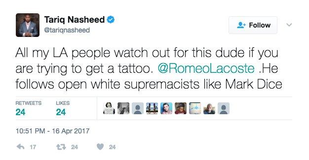 I'd sue @tariqnasheed for defamation but that nigga ain't got no money anyway. https://t.co/aPfjYfnhuM