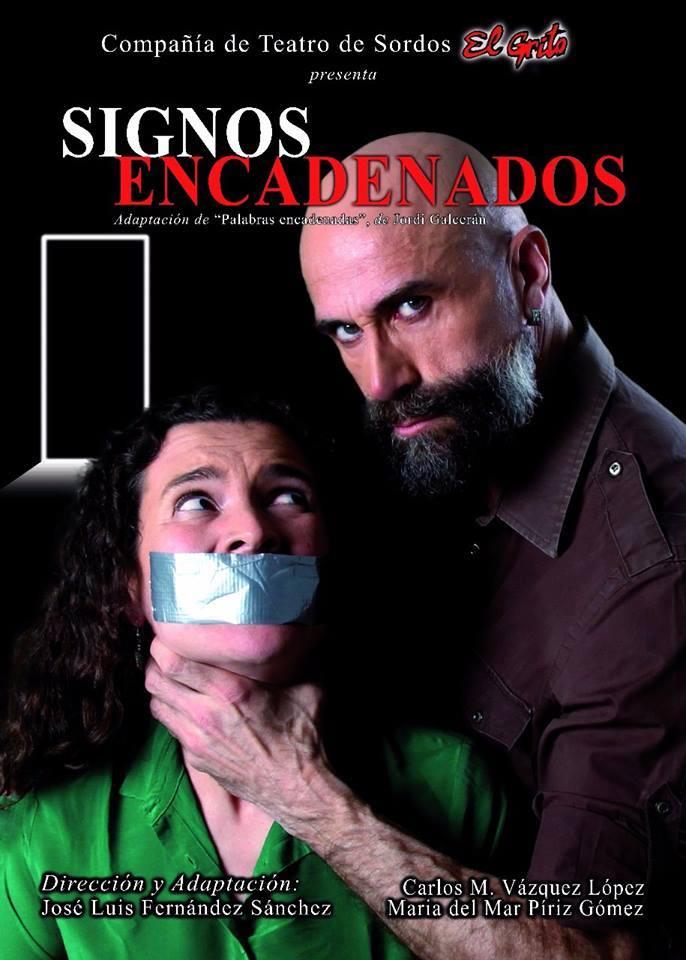 """Teatro EL GRITO: """"Signos Encadenados"""" - 22 de abril, Rentería (Gipuzkoa) C9mKHyVXcAADx-Z"""