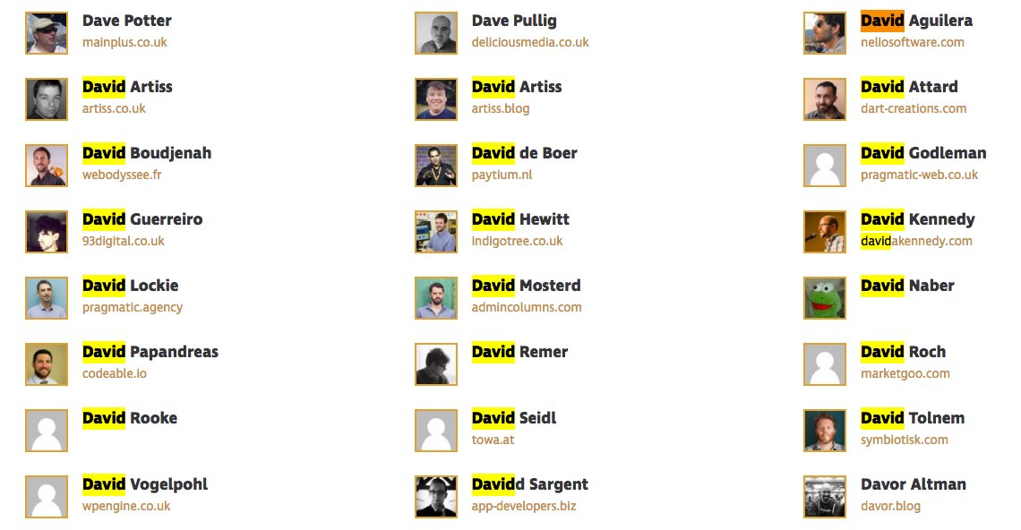 test Twitter Media - Wow! We have 20+ #David in @WCEurope! Still I see few David missing, like @dimensionmedia , @davidlaietta ! :D #WCEU #WCEurope https://t.co/szBwQXeDNP