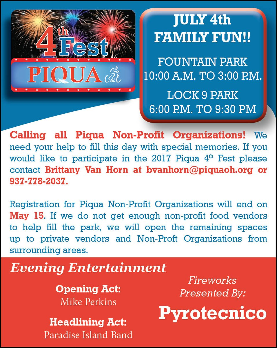 10 Special Needs Organizations You >> City Of Piqua On Twitter Calling All Piqua Non Profit