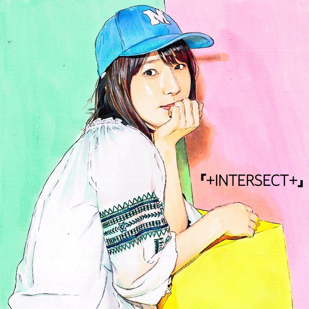 【内田真礼】5th Single『+INTERSECT+』リリース記念イラスト  #内田真礼