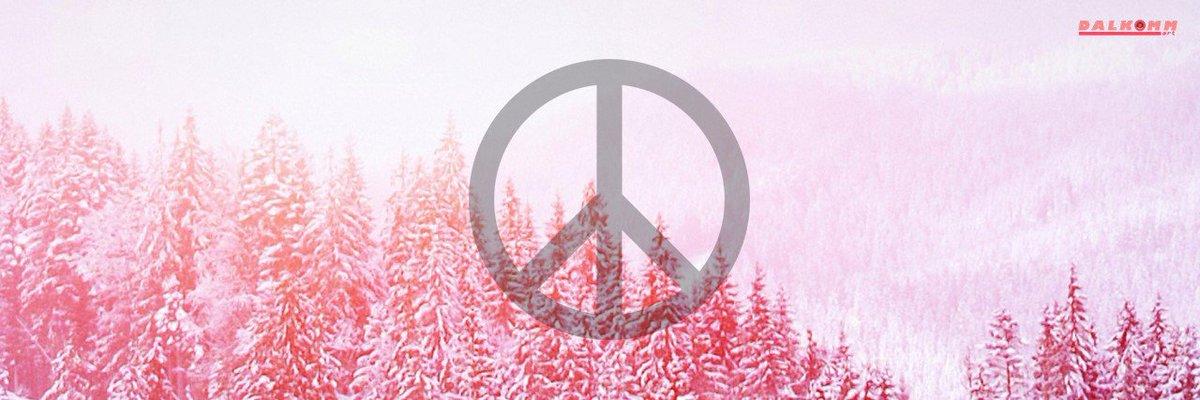 Dalkommart On Twitter Twitter Header Peace Symbol