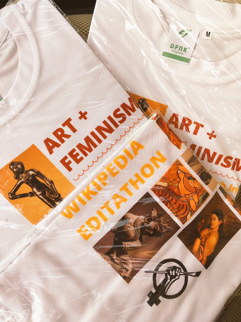 Can't wait for the #ArtandFeminism Editathon tomorrow at the @NMnewdelhi ! We have a great #giveaway too for the most promising editors 😄 https://t.co/SoBsULnkbR