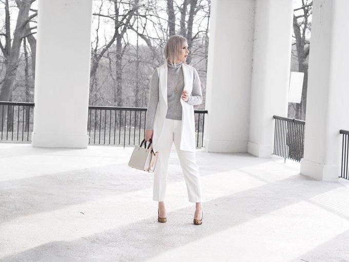 OOTD: White On White