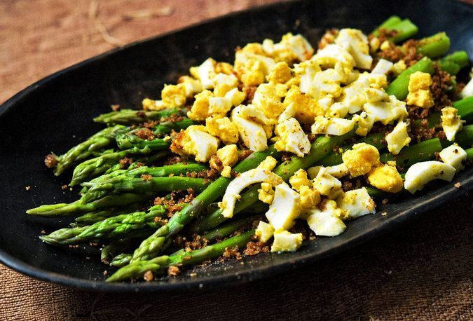 Asparagus With Prosciutto and Egg Recipe