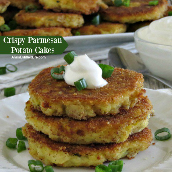 Crispy Parmesan Potato Cakes Recipe