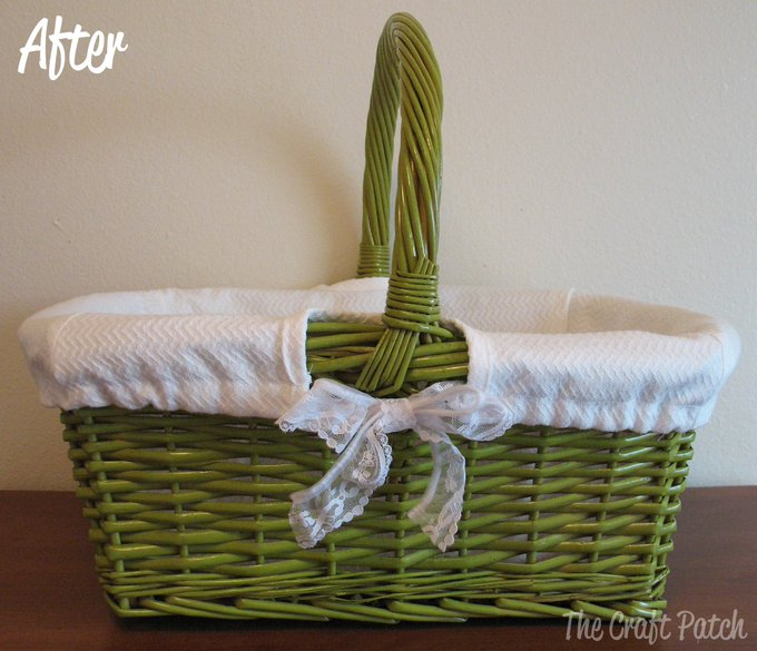 A Basket Makeover