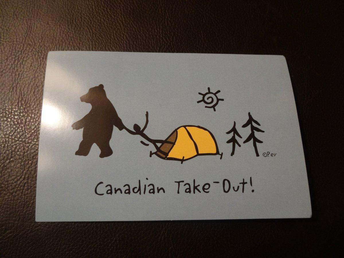 更にカナダ人が熊に食べられるお土産とか。