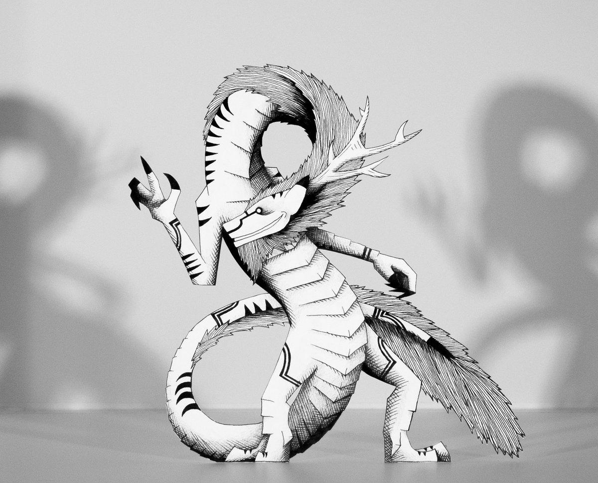 Kenny Harris On Twitter Ryujin Art Drawing Mythology