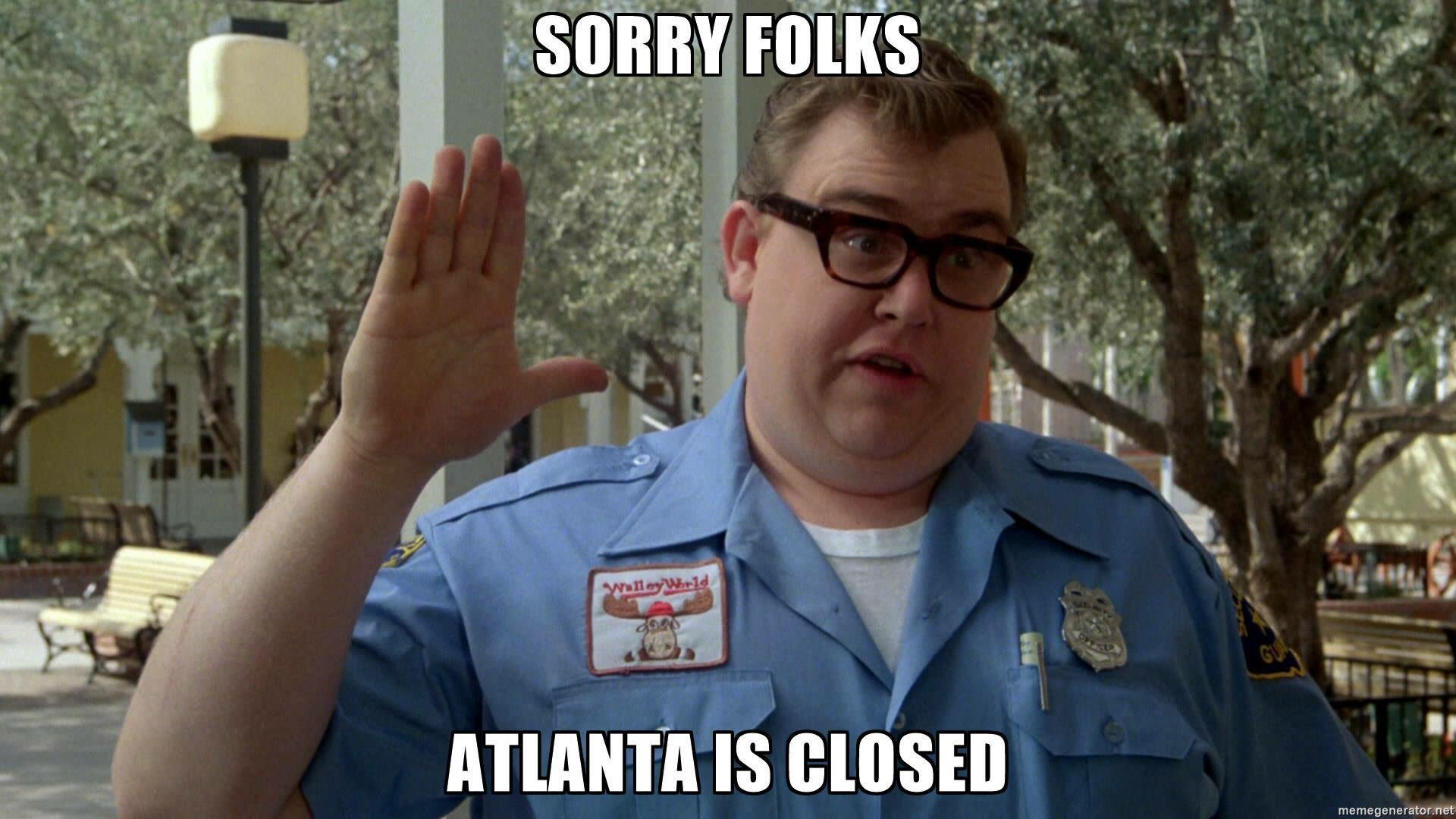 Thumbnail for Social media reacts as another highway in Atlanta collapses