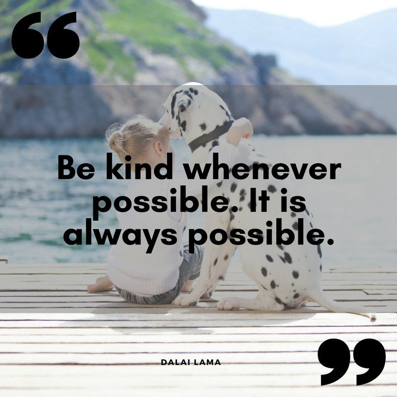 """""""Be kind whenever possible. It is always possible."""" Dalai Lama #motivationalquotes #dailyquotes https://t.co/5POXSgurZb"""