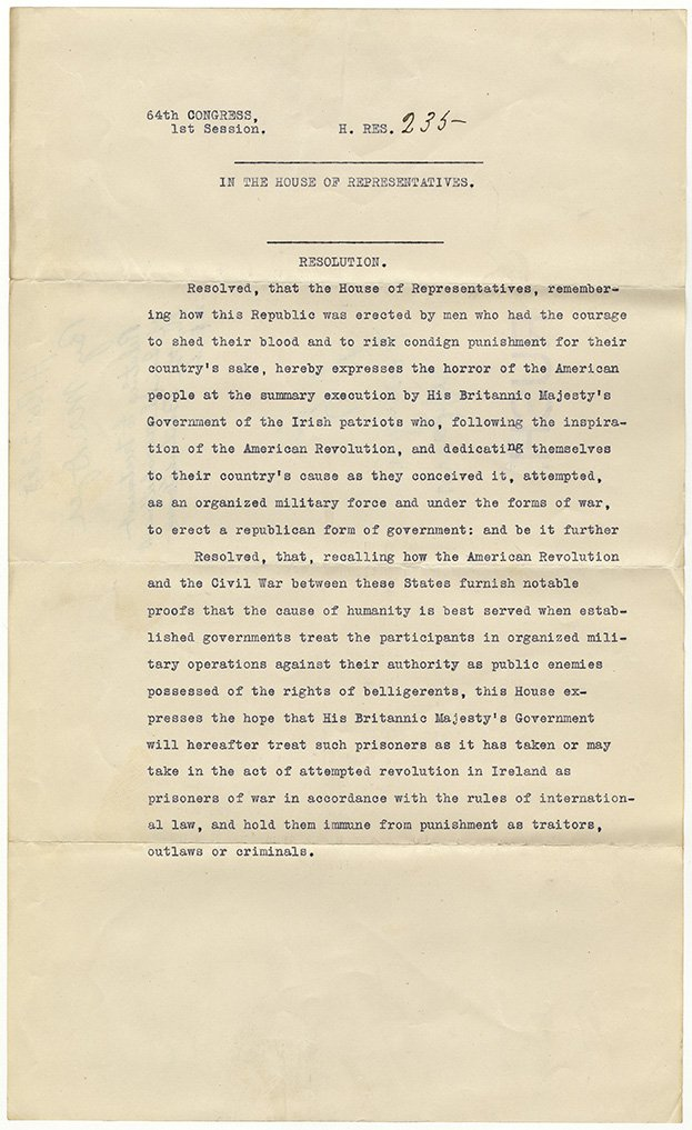 Ireland's Easter Rising started #OTD 1916. This #HouseRecord considered treatment of Irish prisoners. #RecordsSearch https://t.co/uiA55hdnOw https://t.co/7wWmGD2TwU