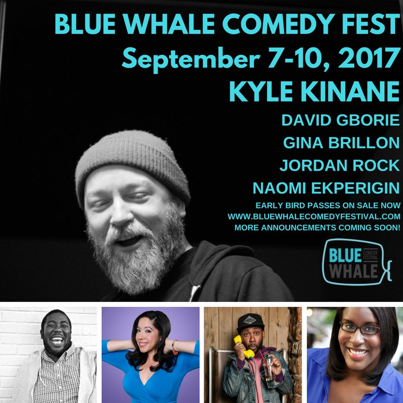 First round of comics announced for #bwcf2017 and more to come! Early Bird Passes are on sale now at https://t.co/vRFdIRje2w @kylekinane