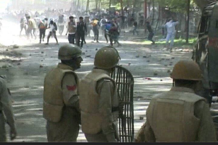 Scores hurt as students hit streets across Kashmir; internet gagged yet again