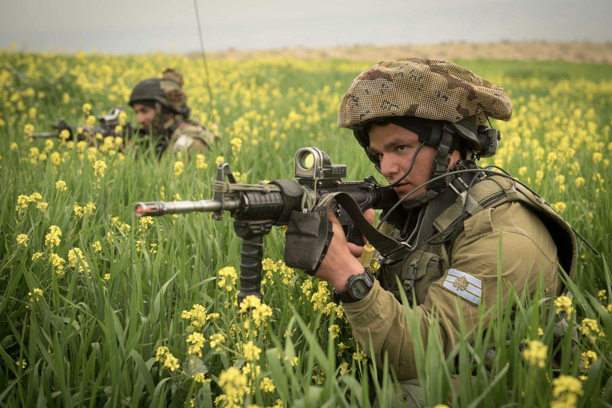 الجيش الاسرائيلي يشكل كتيبة مشاة خفيفه جديده سترابط على الحدود مع الاردن  C9oUx1iXkAAD40F