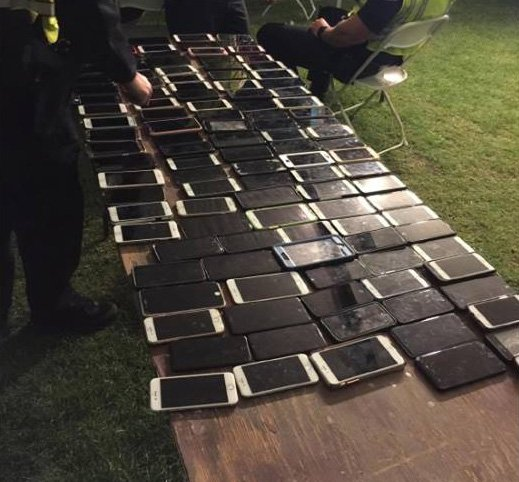 Man Caught With A Hundred Stolen Cellphones At Coachella After Festivalgoers Activate 'Find My iPhone' App https://t.co/mQR9xbGtkr