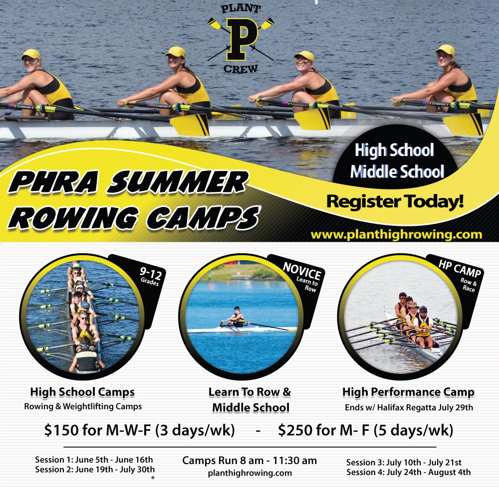 Plant High Rowing On Twitter Summer Camp Registration Httpstco