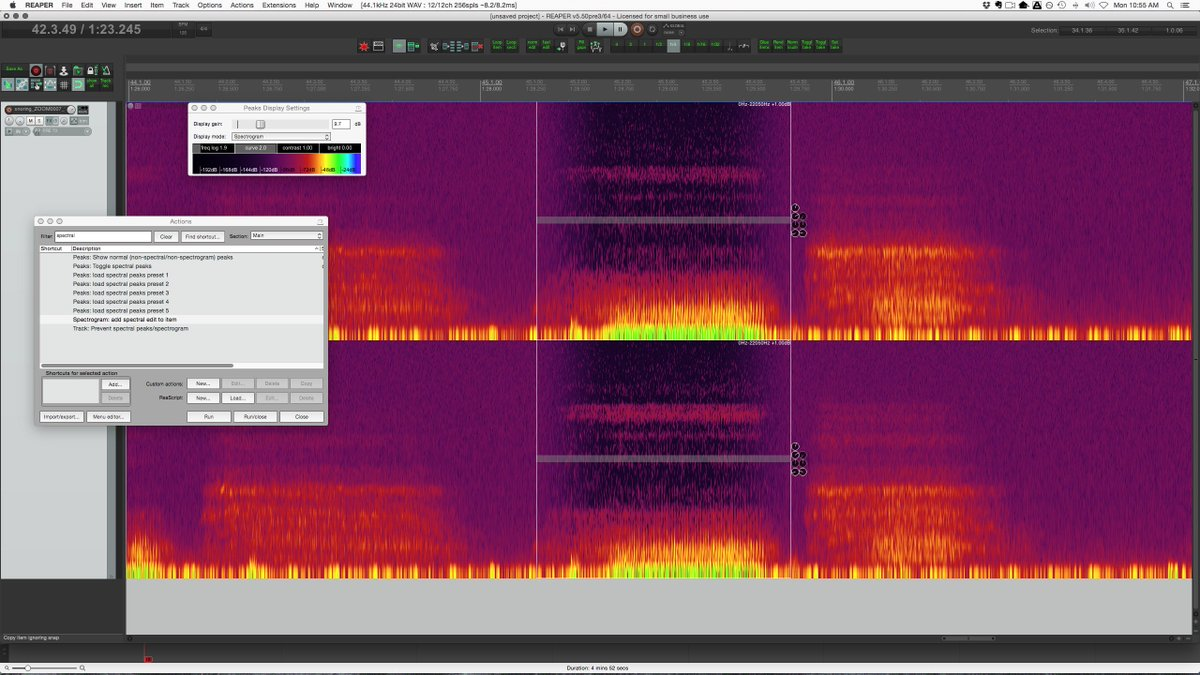 Image result for reaper spectral editing