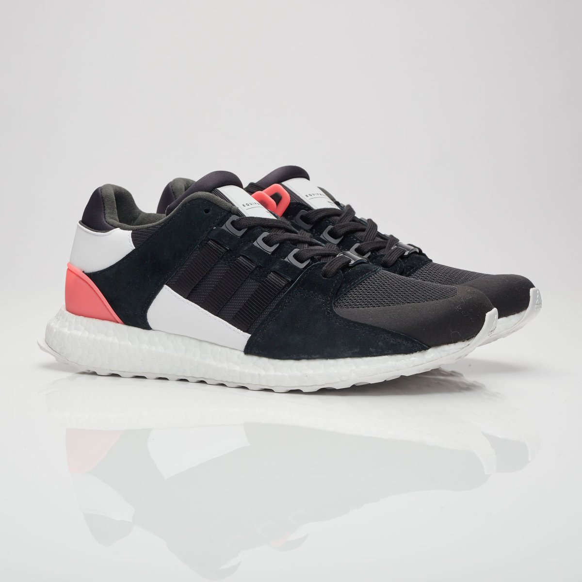 Adidas EQT Support 93 17 Boost White Turbo Red Black