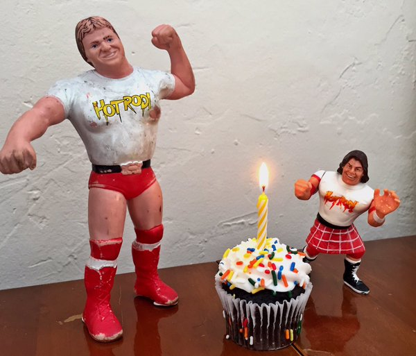 Happy Birthday to the REAL ICON! Love and Blessings ALWAYS Hot Rod!