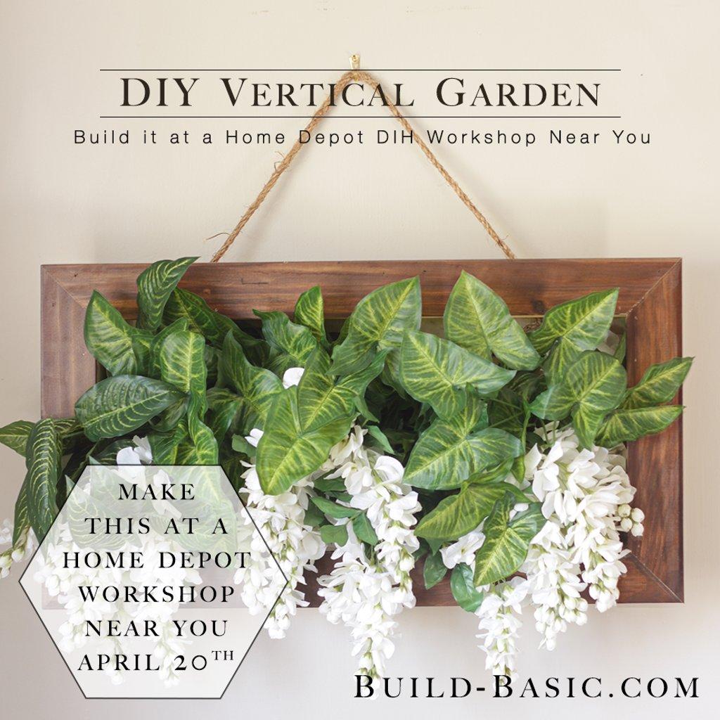 Home Depot Vertical Garden Class Insured By Ross