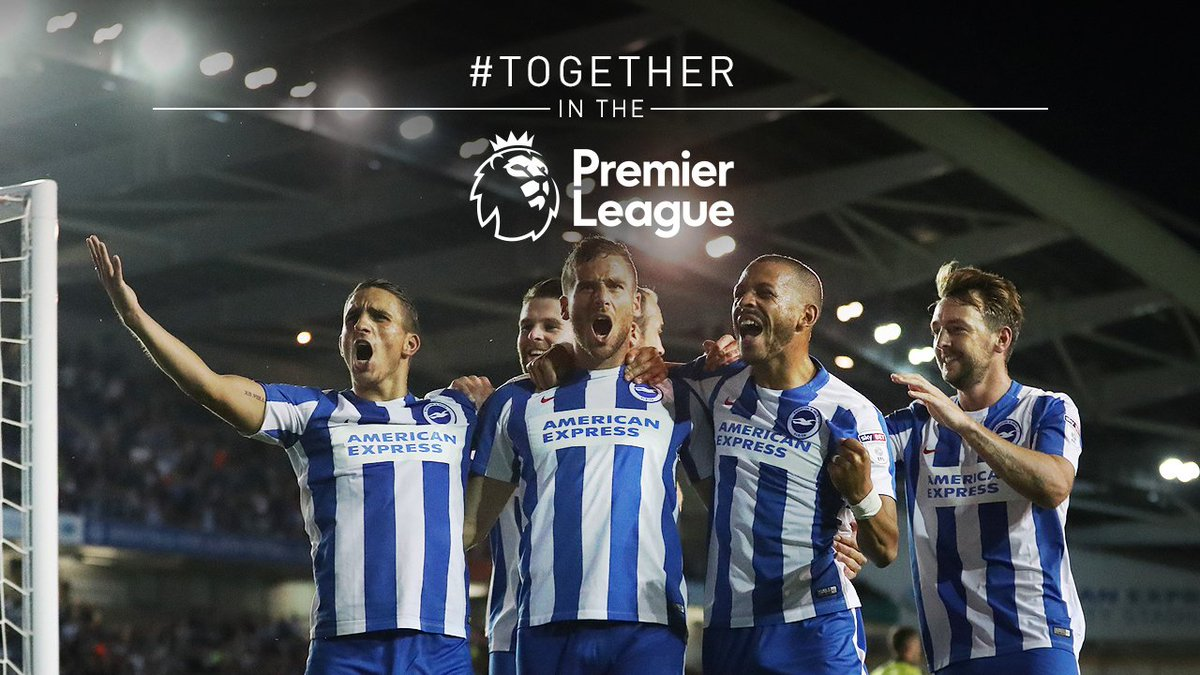 We're on our way! #BHAFC #TOGETHERINTHEPREMIERLEAGUE https://t.co/Gt2Z9uGtDZ
