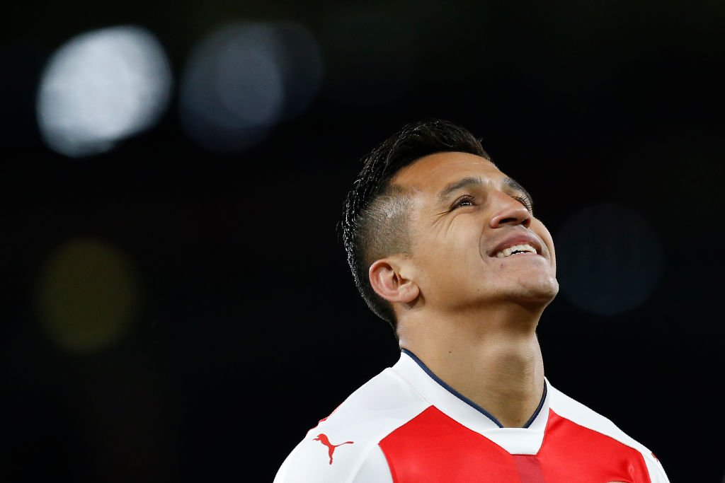 Alexis sanchez has been directly involved in 26 premier