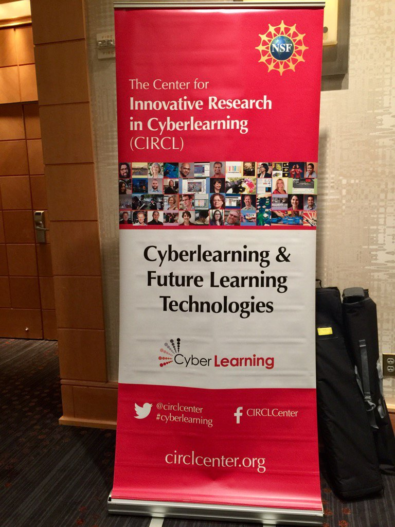 Cyberlearning 2017 - can't wait ! #NSFCL17 making connections to shape the future smart and connected communities! https://t.co/97dBg3WL2y