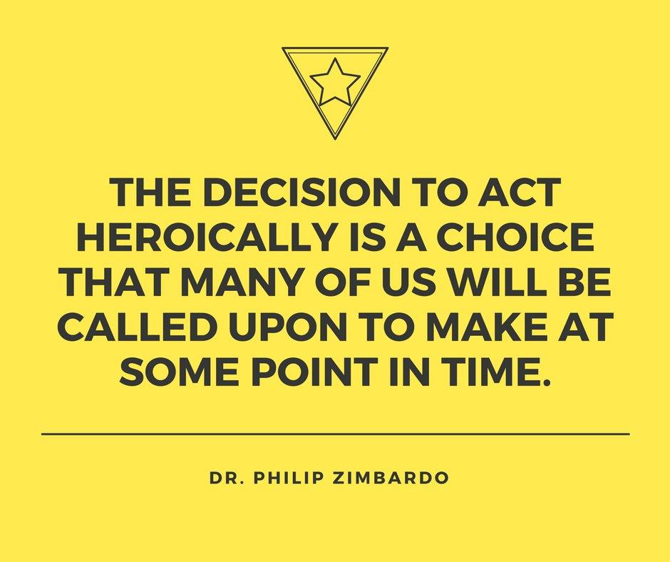 Wisdom from #PAU Professor (Emeritus) Philip Zimbardo, Ph.D. <br>http://pic.twitter.com/OgPt3TOPP6