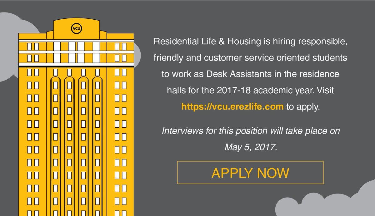 VCU Housing On Twitter: