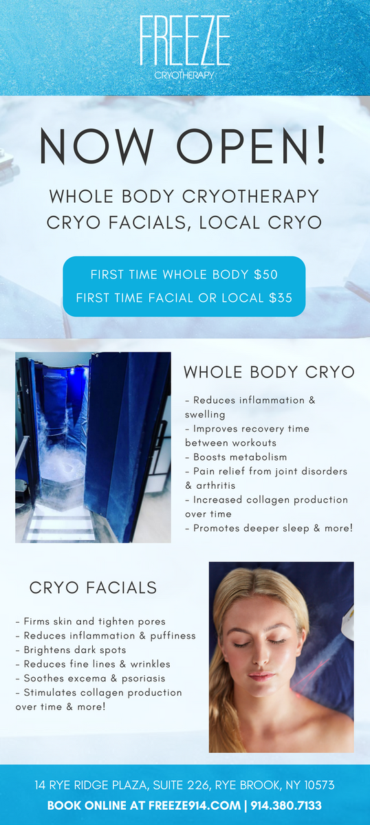 Freeze Cryotherapy (@freezecryo914) | Twitter