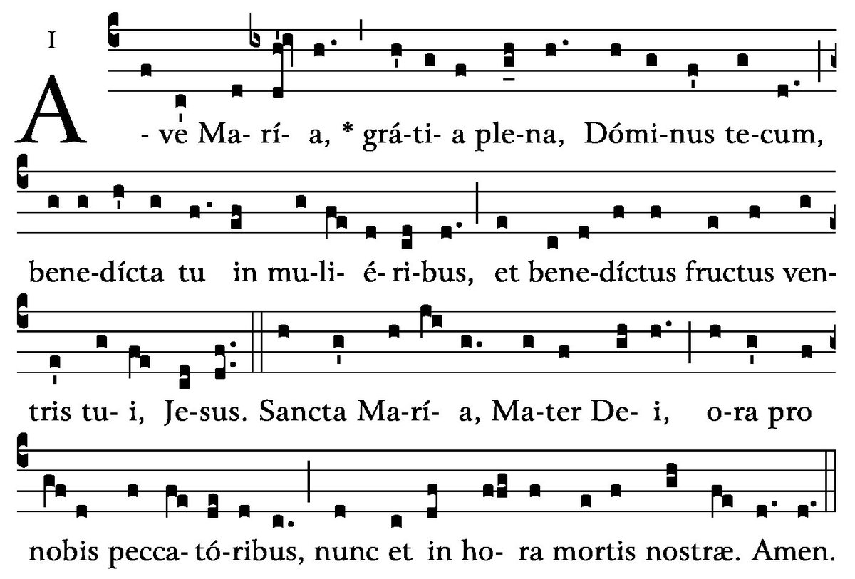 """clavier_continuo on Twitter: """"ウェブで「Gregorian chant ave maria ..."""